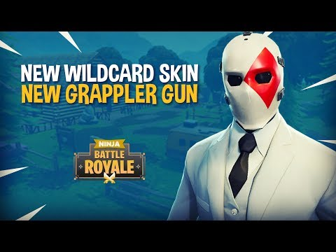 *NEW* Wildcard Skin and Grappler Gun!! Fortnite Battle Royale Gameplay - Ninja & TimTheTatman