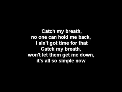 Kelly Clarkson - Catch My Breath Lyrics