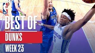 NBA's Best Dunks   Week 23