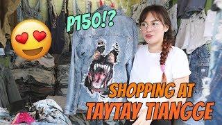 VLOG: SHOPPING AT TAYTAY TIANGGE! (2018) | GlamByLouie