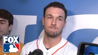 Alex Bregman on if he regrets 2017 sign stealing: 'MLB did their report…I have no other thoughts'