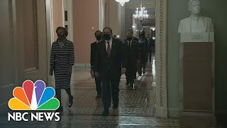 House Delivers Article Of Impeachment To Senate | NBC Nightly News