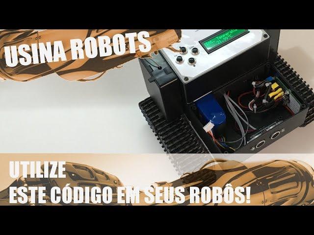 UTILIZE ESTE CÓDIGO EM SEUS ROBÔS! | Usina Robots US-2 #128