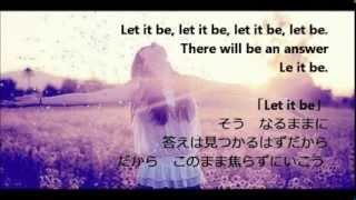 辛い時に聞いて欲しい洋楽 Let it be-glee cast