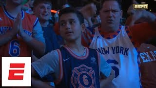 Knicks draft Kevin Knox No. 9 in 2018 NBA draft, pick gets booed by New York fans | ESPN