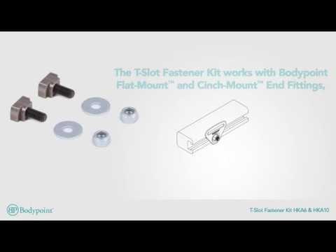 Bodypoint | T Slot Fastener Kit | Wheelchair Hardware