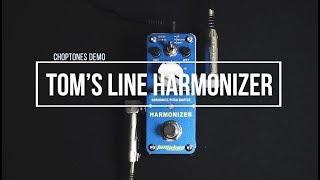 Tom's Line Pedals | AHAR-3 Harmonizer | Playthrough (Harmonist Pitch Shifter)
