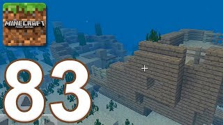 Minecraft: Pocket Edition - Gameplay Walkthrough Part 83 - New Aquatic Update (iOS, Android)