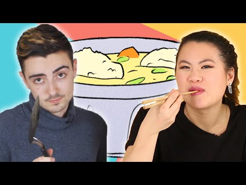 Best Friends Cook Chinese And Jewish Food For Each Other
