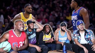 NBA IS BACK! Los Angeles Lakers vs Los Angeles Clippers Full Game Highlight Reaction