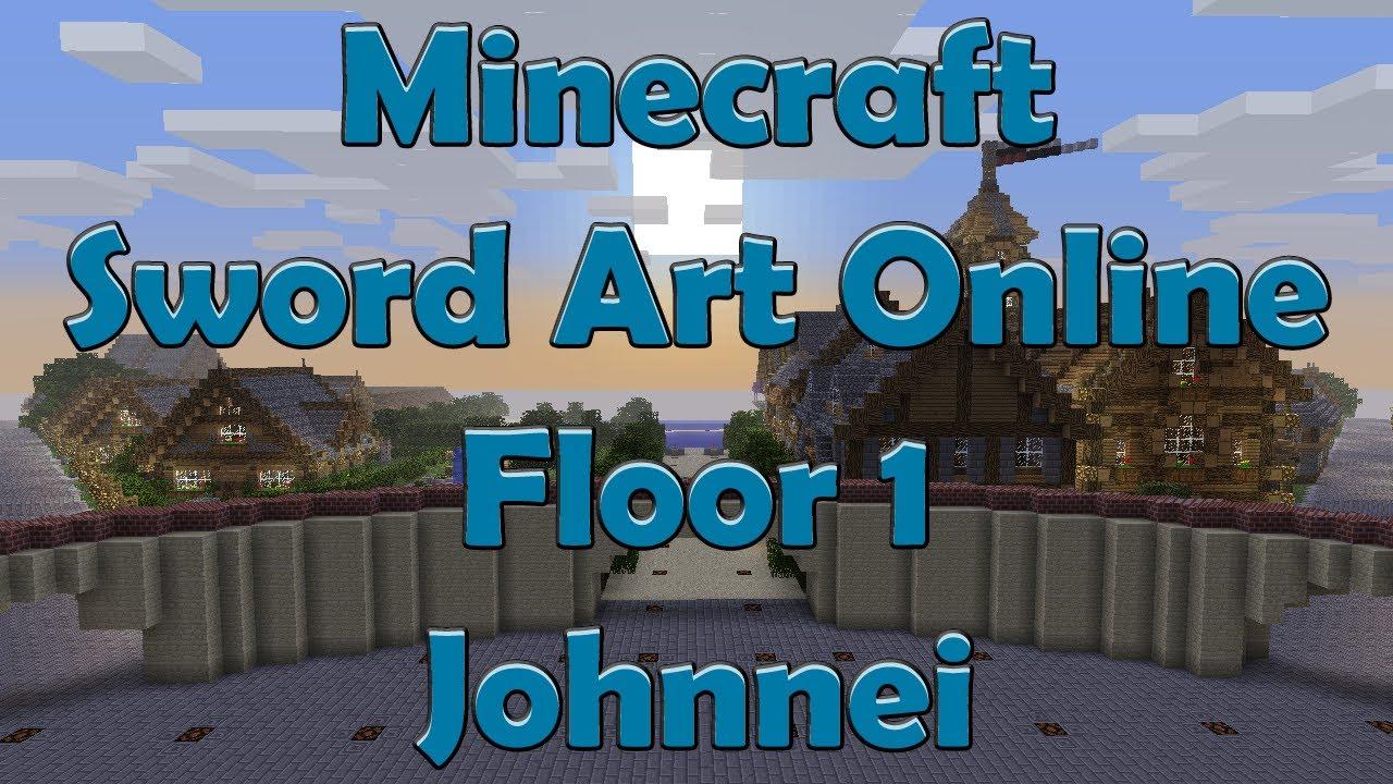 Minecraft Sword Art Online - Building - Livestream #1 ...