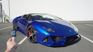 2020 Lamborghini Huracan EVO Spider: Start Up, Exhaust, Test Drive and Review