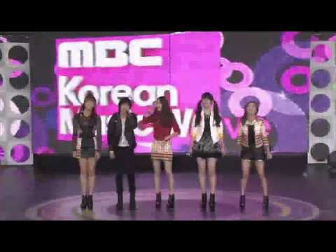 f(x) - Danger, Hot Summer, NU ABO, YouTube Presents MBC K-pop concert 20120521