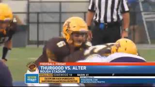 Alter Shuts Out Thurgood Marshall
