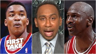 'Let it go!' - Stephen A.'s advice to Isiah Thomas after his latest MJ comments   First Take