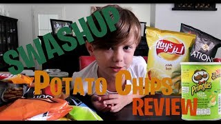 the great chips review with lots of fun!  frito lay,Lays, Pringles, Walker chips