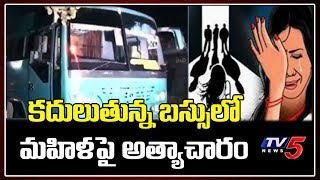 UP: Woman gangraped on moving private sleeper bus in prese..