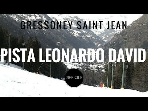 Video Piste Gressoney Saint Jean - Weissmatten: pista Leonardo David