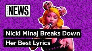 Nicki Minaj Breaks Down Her Best Lyrics With Genius | Genius News