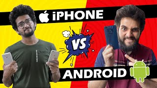 Android vs Iphone | Funcho