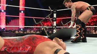 CM Punk vs. Ryback - WWE App Vote Match: Raw, Oct. 28, 2013