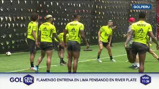Copa Libertadores: Con la alegría de Gabigol, Flamengo sumó su primer entrenamiento en Lima
