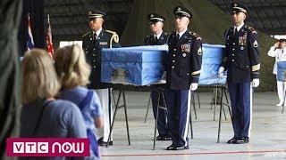 Triều Tiên sắp trao trả hài cốt lính Mỹ   VTC1