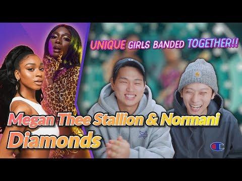 K-pop Artist Reaction] Megan Thee Stallion & Normani - Diamonds