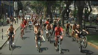 Peru: Wütende peruanische Radfahrer