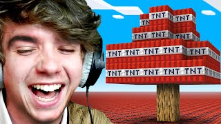 Minecraft, But The World Is TNT!