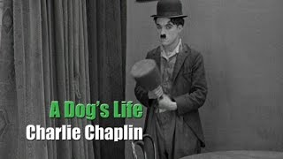 "Charlie Chaplin - A Dog's Life - Hand Scene (""Puppet"" Gag)"