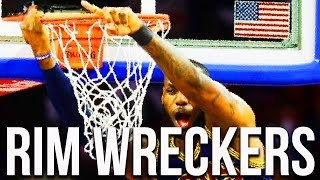 10 NBA Players Who Wreck the Basket - Ripped the Rim or Shattered the Backboard