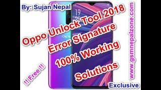 2019 All OPPO Unlock Token Generate Free - Bikram Rai
