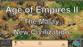 Aoe2 HD Rise of the Rajas: Malay - New Civilizations