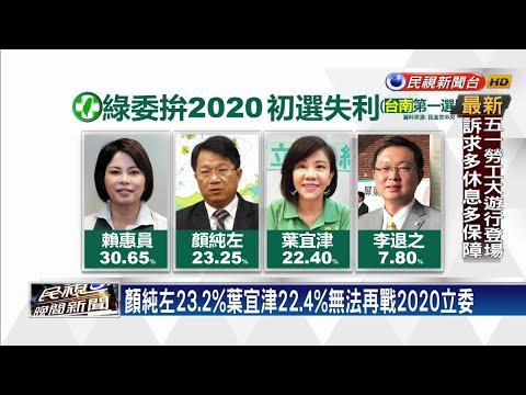 葉宜津初選落敗 控對手賴惠員賄選將提告-民視新聞