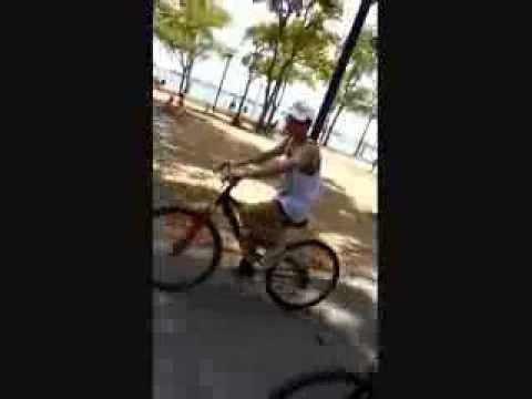 我骑了一部单车 happy tgt at ecp