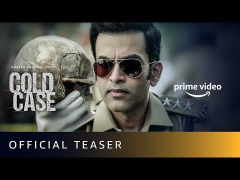 Official teaser (Malayalam): Cold Case starring Prithviraj Sukumaran, Adithi Balan