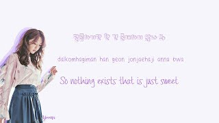 SNSD - Love Is Bitter Lyrics (Han|Rom|Eng) Color Coded