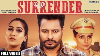 Surrender – Afsana Khan – Dev Kharoud – Japji Khaira Video HD