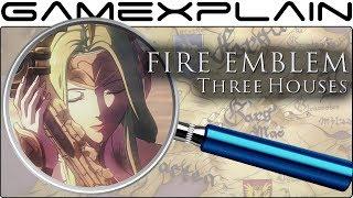 Fire Emblem: Three Houses ANALYSIS - Reveal Trailer (Secrets & Hidden Details)