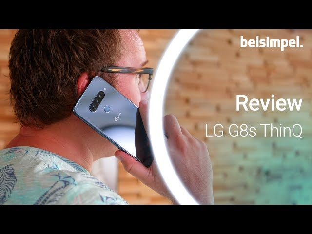 Belsimpel-productvideo voor de LG G8s ThinQ Black