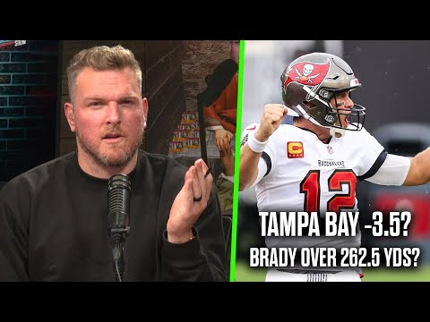 Pat McAfee's Bets For Tampa Bay vs Bears Thursday Night Football