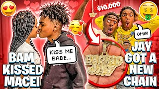 WE SURPRISED JAY WITH A NEW CHAIN & BAM KISSED MACEI!!💔