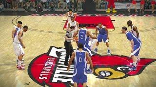 NCAA Basketball 10 2016 2017 Season Kentucky Wildcats vs Louisville Cardinals