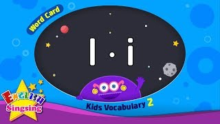 "Kids vocabulary compilation ver.2 - Words Cards starting with I, i - Repeat after ""Ting (sound)"""