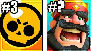 Ranking Every Supercell Game From WORST to BEST!!! (2020)