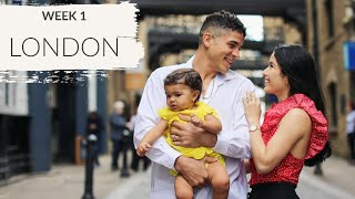 Our First Family Vacation   London England   Traveling with a Baby   [ WEEK 1 TRAVELING EUROPE ]