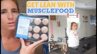 GET LEAN WITH MUSCLEFOOD / DAILY VLOG 18TH JULY / AD