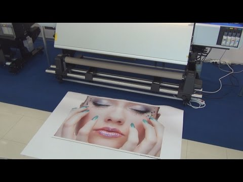 Epson SureColor SC-S40610 high quality signage printer review in 3D