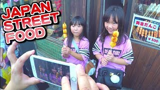 Japanese Street Food Tour in Diamond route Japan in Kawagoe near by Tokyo | しほりみが川越で小江戸旅行を満喫(英語版)